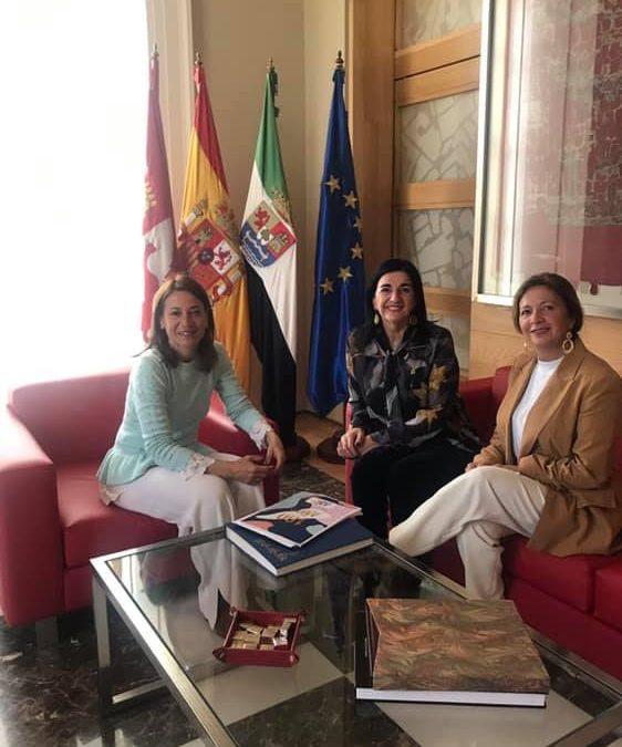 Reunión presentación Centenario Colegio Enfermería Cáceres - Ayto Cáceres