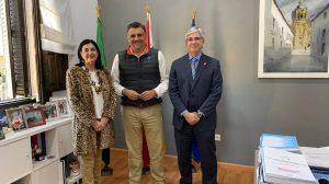 Reunión presentación Centenario Colegio Enfermería Cáceres - Ayto Coria