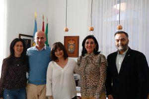 Reunión presentación Centenario Colegio Enfermería Cáceres - Ayto Navalmoral