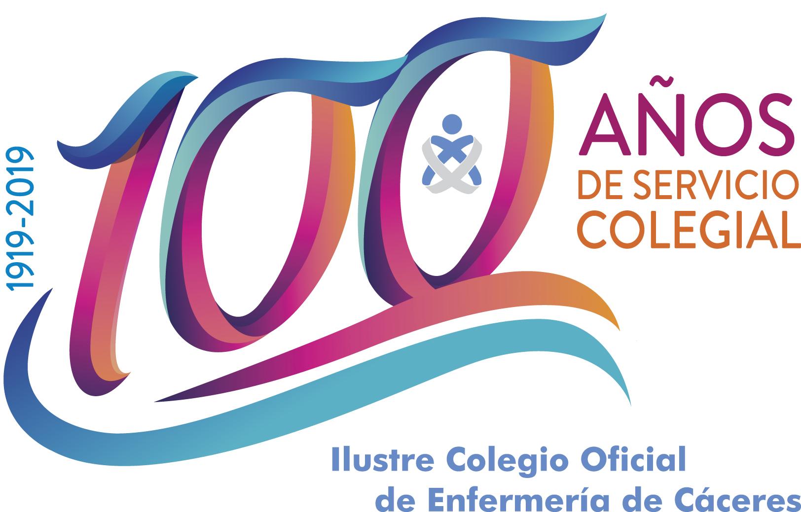 Logo Centenario Colegio Enfermería de Cáceres
