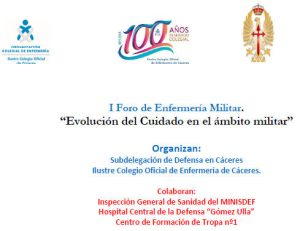 I foro Enfermería Militar - Colegio Enfermería de Cáceres